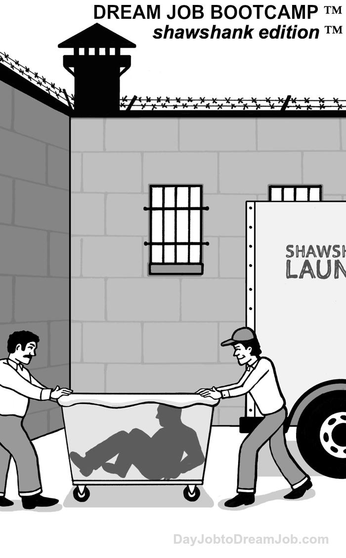 Dream Job Bootcamp™ Shawshank Edition™