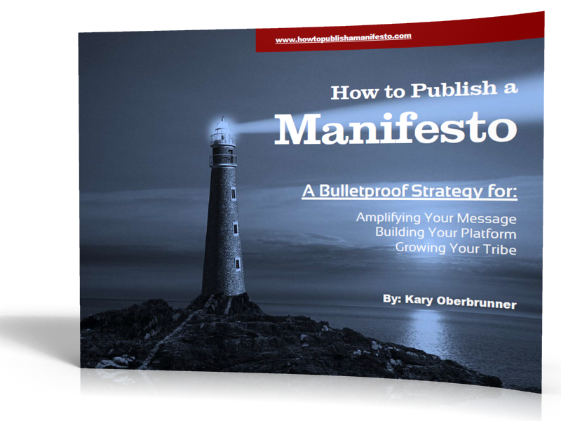 How to Publish a Manifesto
